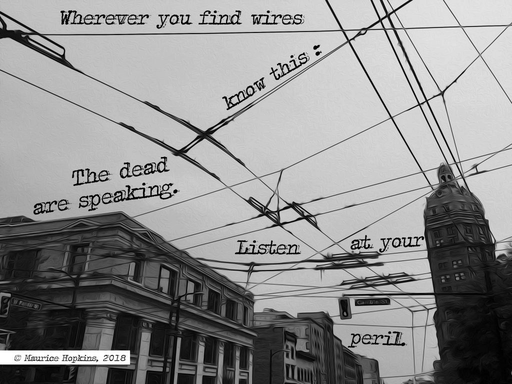 Perilous Wires A Strange Signal