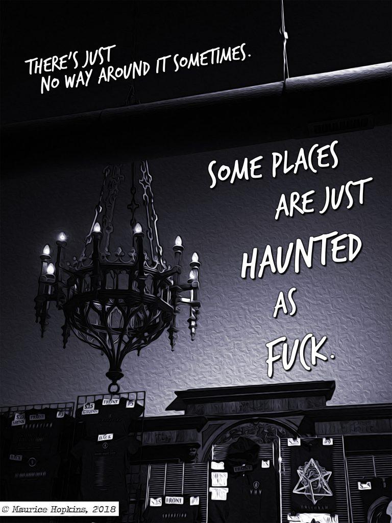 Haunted AF Strange Signal