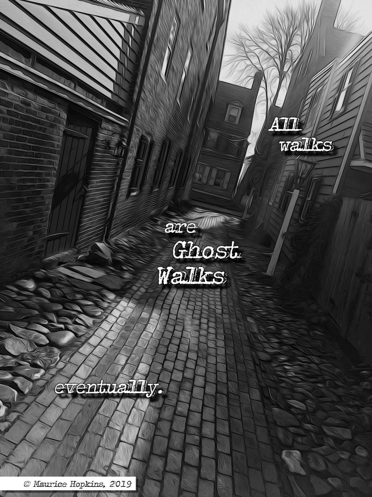 ghost walks a strange signal
