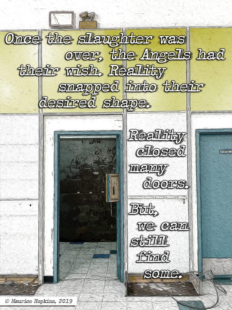 Closed Doors A Strange Signal